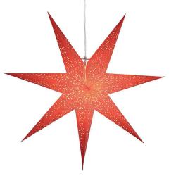 Dot Star 70cm pappersstjärna röd