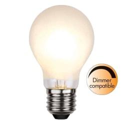 Illumination LED Frostad filament lampa E27 400lm 4w Dimbar