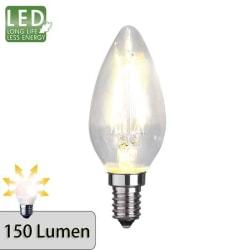 Illumination LED kronljus filament lampa E14 2700K 150lm
