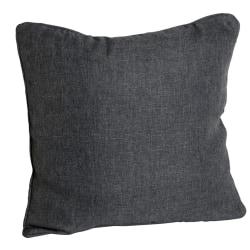 Kuddfodral grovlinne 50x50cm Grå