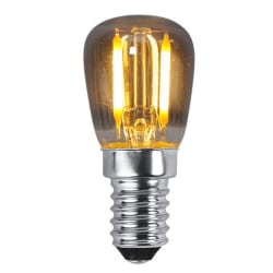 LED lampa med rökfärgat glas E14 30 lumen