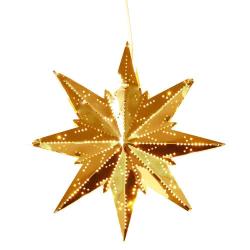 Mini Classic adventsstjärna mässing 25 cm