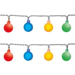 Partyslinga Berry 50 LED flerfärgade lampor flerfärgad 7 m