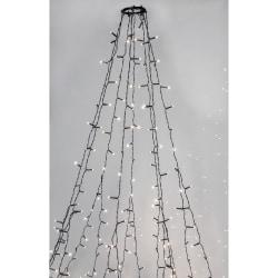 Serie LED granslinga 8x2m 360 LED Färg: Crispy Ice White vit