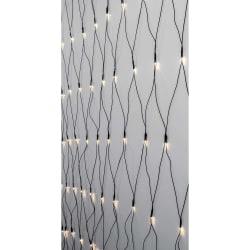 Serie LED ljusnät 200 LED 3x3 meter Färg: Crispy Ice White vit