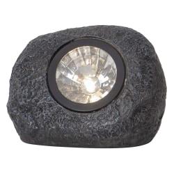 Sten spotlight solcellsbelysning 15 Lumen Grå
