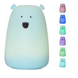 Stora Björn nattlampa blå