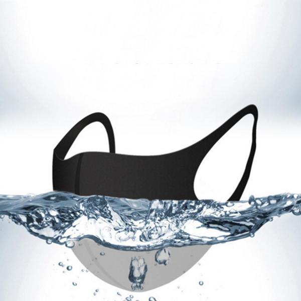 Munskydd Ansiktsmask Community Face Mask 4-pack SVARTA