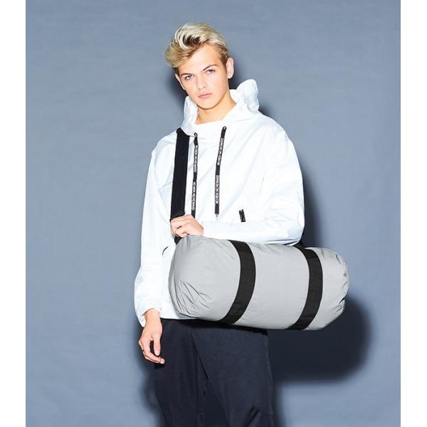 Reflective Barrel Bag - silver silver