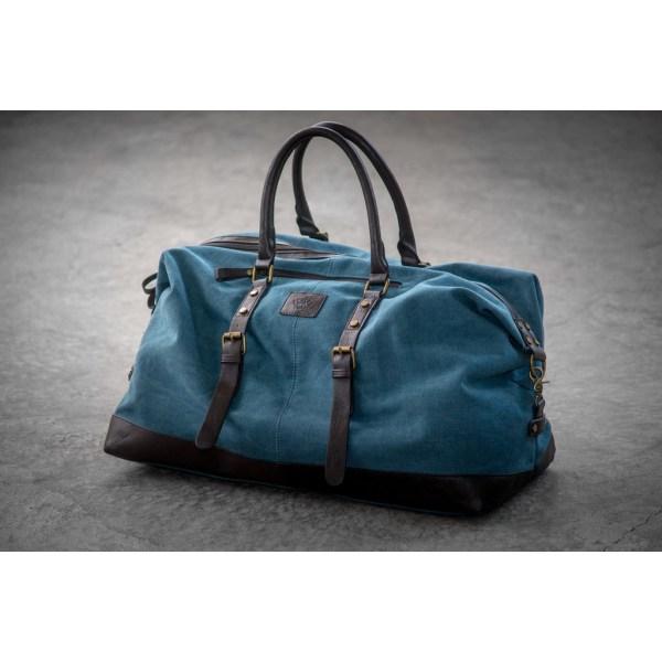 Sandhamn - Weekendbag blå Blue