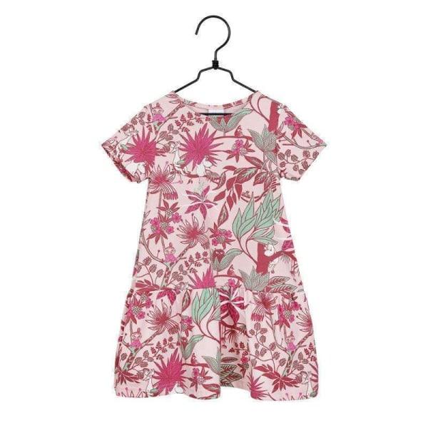 MUMIN Djungelblomma-klänning anilin Pink 98