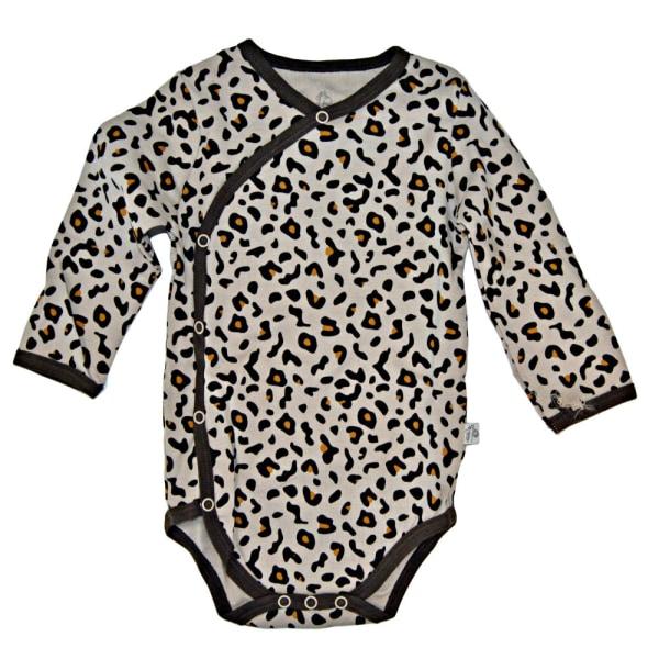 Omlottbody Leopard Beige 86
