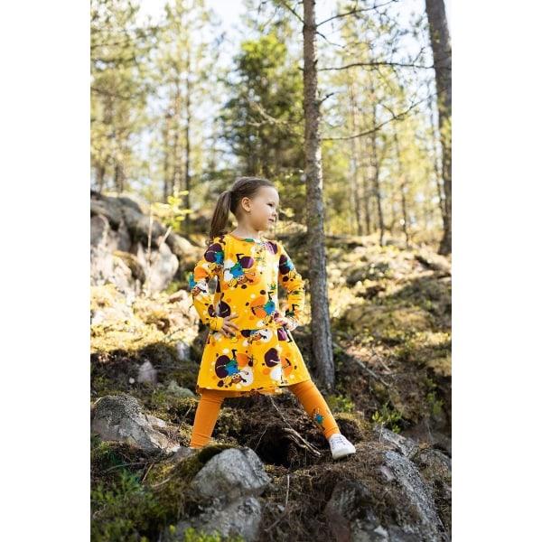 Pippi Långstrump Hjulning Klänning, Gul Yellow 128