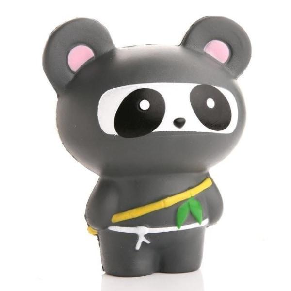 Stressboll / Klämboll-Panda Ninja 14cm