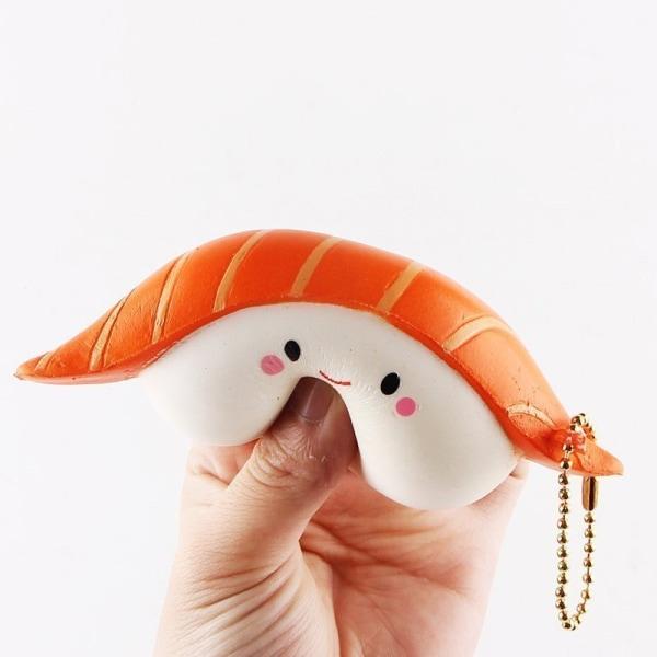 Stressboll / Klämboll- Sushi 12 cm