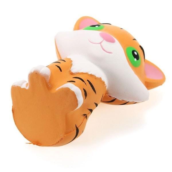 Stressboll / Klämboll- Tiger 9cm