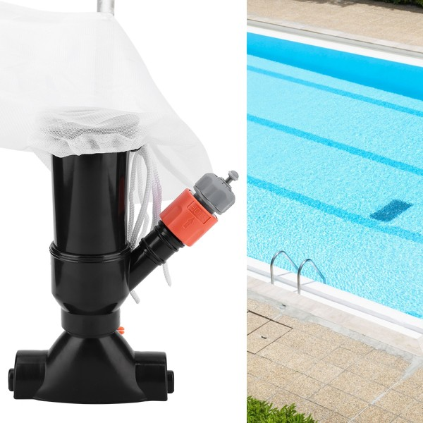 Portable Swimming Pool Pond Fountain Vacuum Cleaner Cleaning