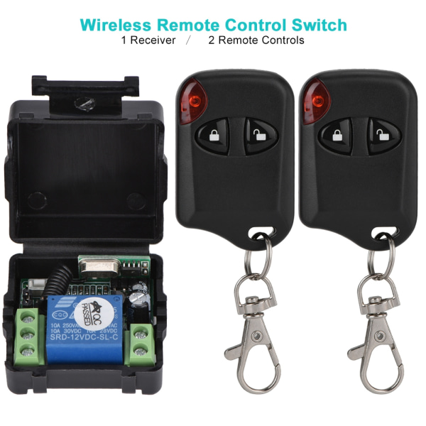 Wireless Remote Control Switch Relay Learn Code Switch Modul