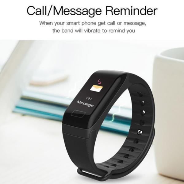 Aktivitetsarmband med Färgdisplay- Smartwatch 2 extra band ingår