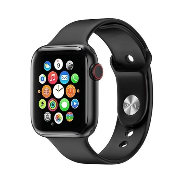 Hoco Premium Smartklocka - Aktivitetsarmband /Smartwatch med ECG Svart