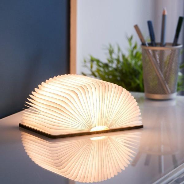 Mood Bok Lampa - Varmt Ljus til Bokälskare