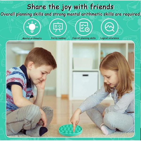 Pop It Fidget Toys - CE Turquoise RUND TURKOS