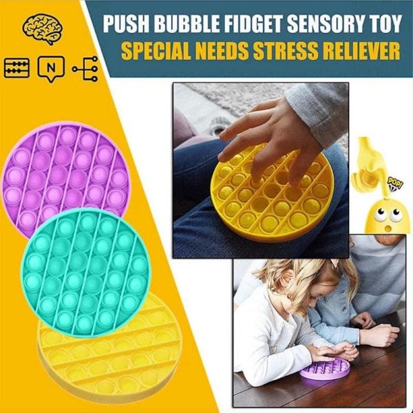 Pop it Fidget Toys - Bubble Push Pop Leksak CE Lila