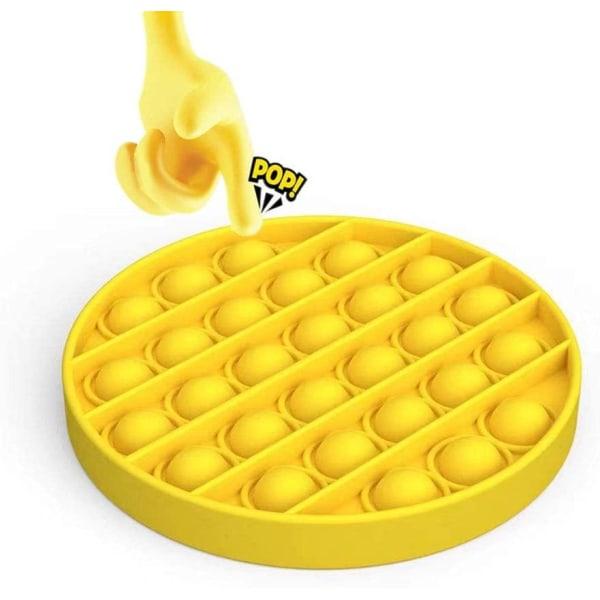 Pop it Leksak Fidget Toys - Bubble Push Pop Leksak CE Gul