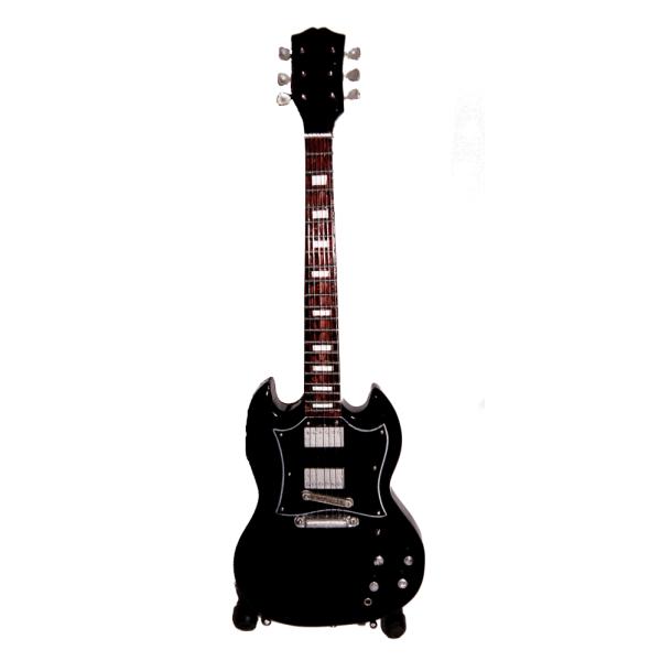 Miniatyr gitarr, Gibson SG-typ, svart