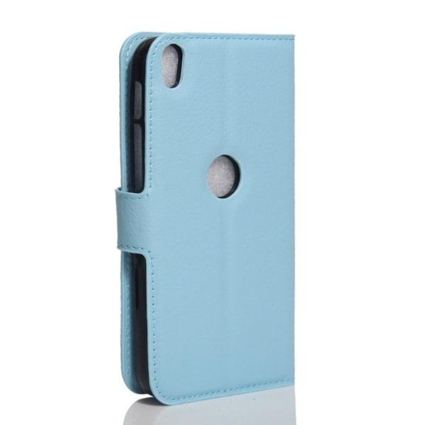 Alcatel Shine Lite Modernt skinn fodral - Blå