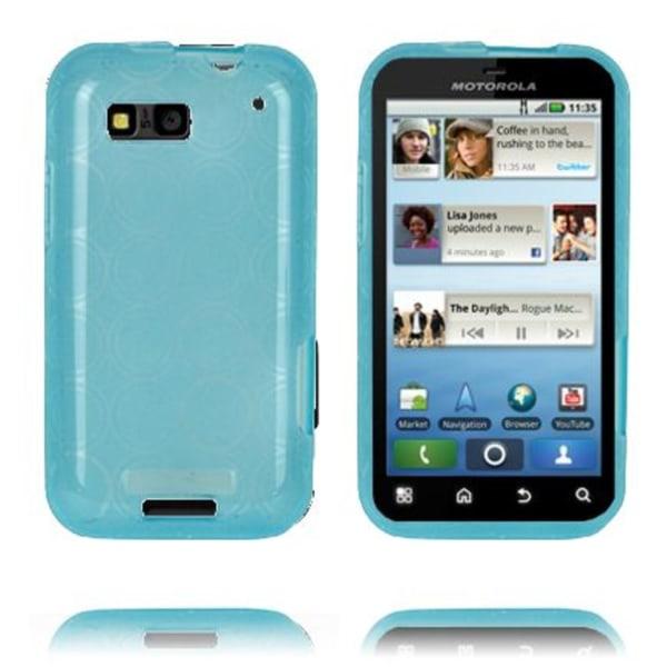 Amazona (Blå) Motorola Defy Skal
