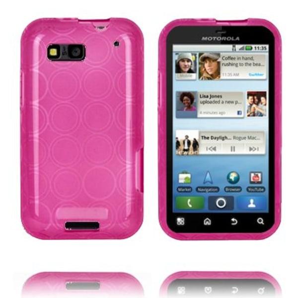 Amazona (Rosa) Motorola Defy Skal