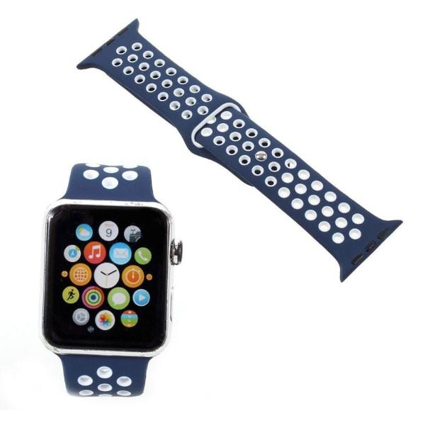 Apple Watch 42mm Unikt håligt klockband - Mörk blå