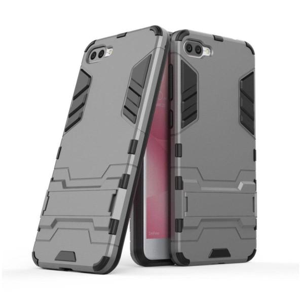 Asus Zenfone 4 Max ZC520KL Modernt hybird skal - Grå