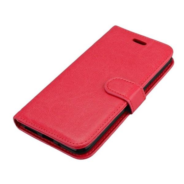 Asus Zenfone Live (ZB501KL) Modernt läder fodral - Röd