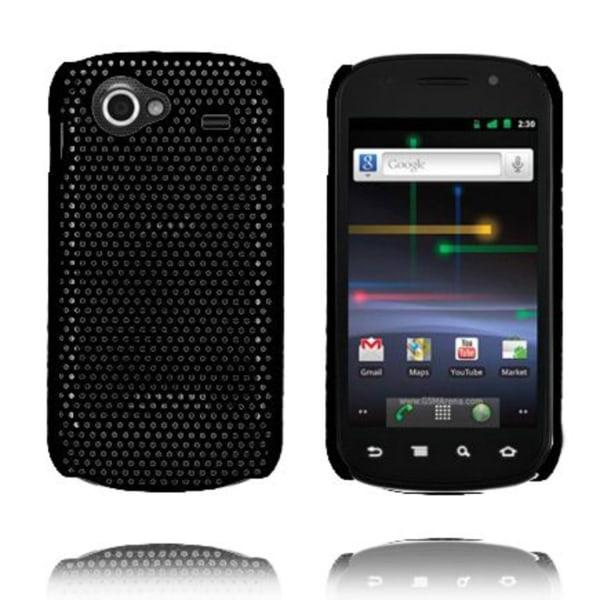 Atomic (Svart) Samsung i9020 Nexus S Skal