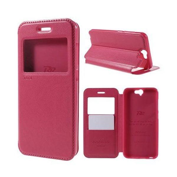 Bellmann View HTC One A9 Leather Case - Varm Rosa