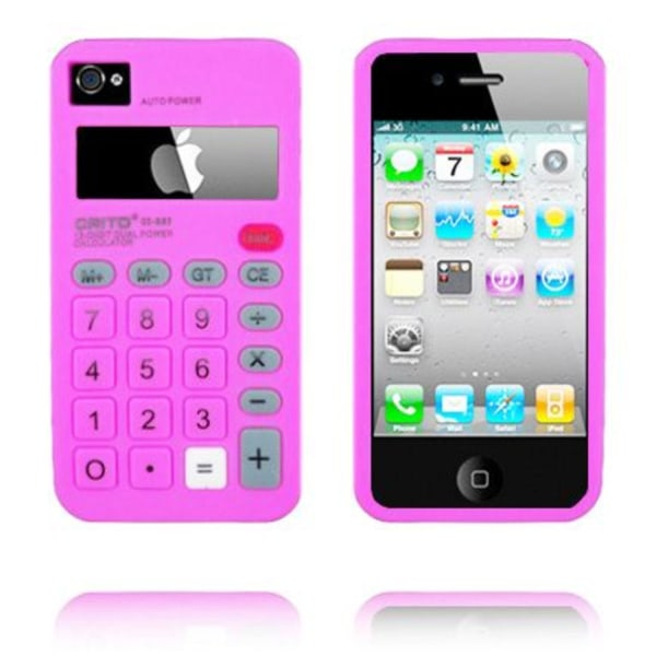Calculator (Het Rosa) iPhone 4 Skal