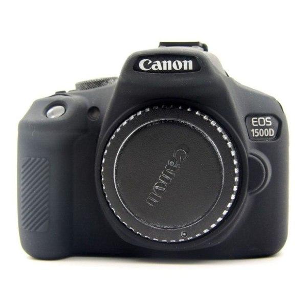 Canon EOS 1300D 1500D kameraskydd silikon - Svart
