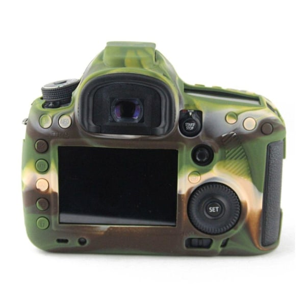 Canon EOS 5D Mark III Snyggt silikon skydd - Camo