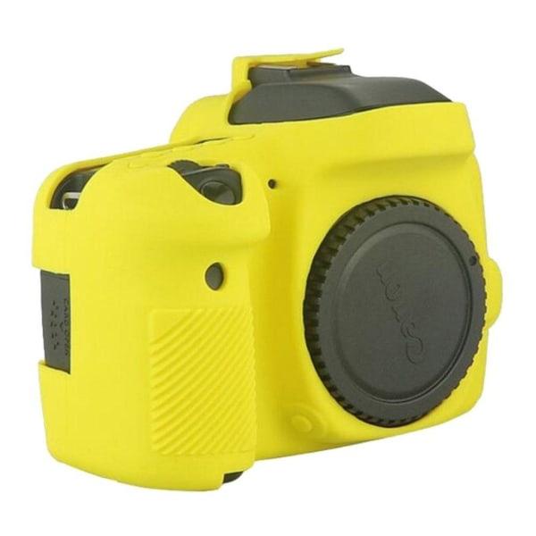 Canon EOS 6D5DS5DRS Modernt silikon skydd - Gul