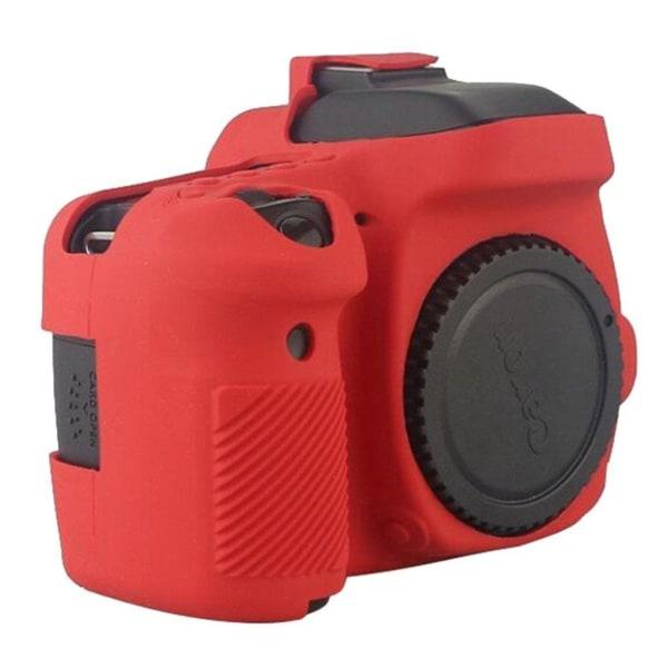 Canon EOS 6D5DS5DRS Modernt silikon skydd - Röd