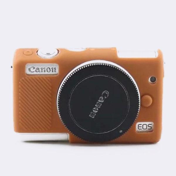 Canon EOS M100 kameraskydd silikon mjuk - Brun