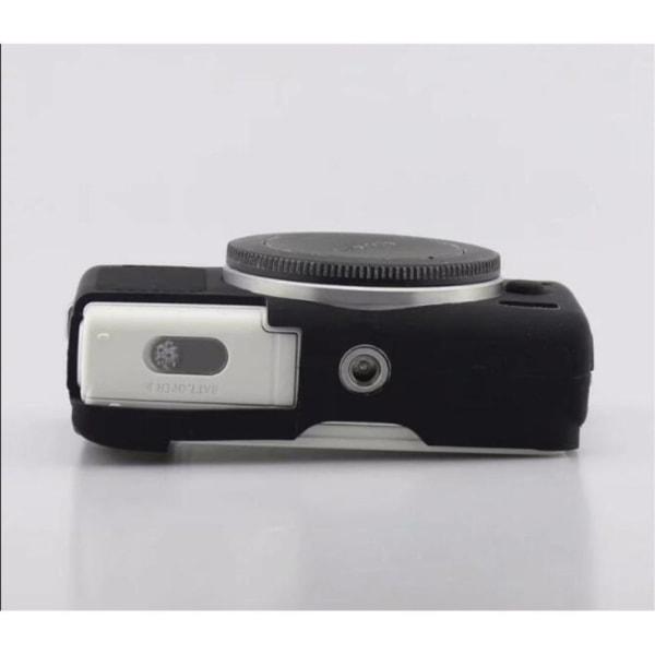Canon EOS M100 kameraskydd silikon mjuk - Svart