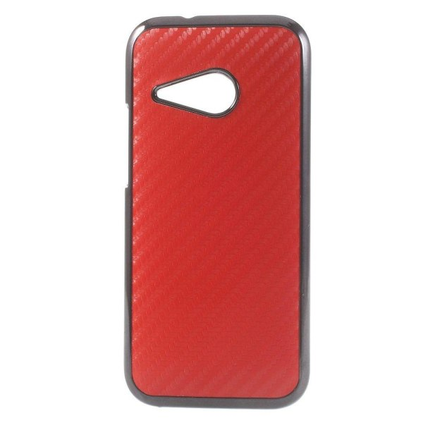 Carbon (Röd) HTC One Mini 2 Skal