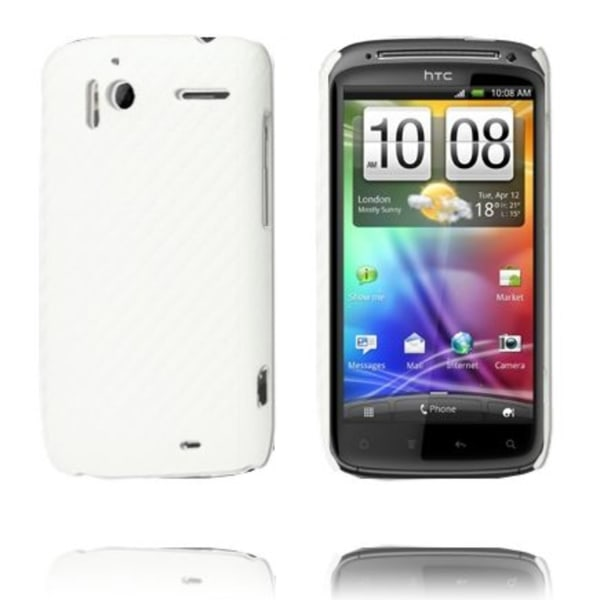 Carbonite (Vit) HTC Sensation Skal