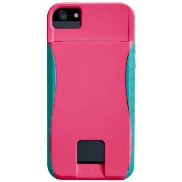 Case-Mate Pop ID Case för iPhone 5S (Rosa)