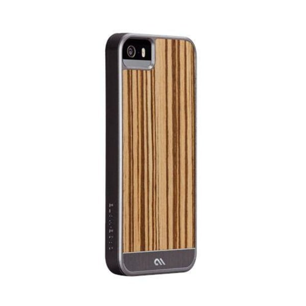 Case-Mate Wood Case för iPhone 5S (Stil I)