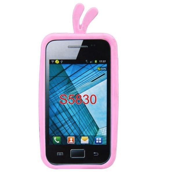 Chicken (Ljusrosa) Samsung Galaxy Ace Skal