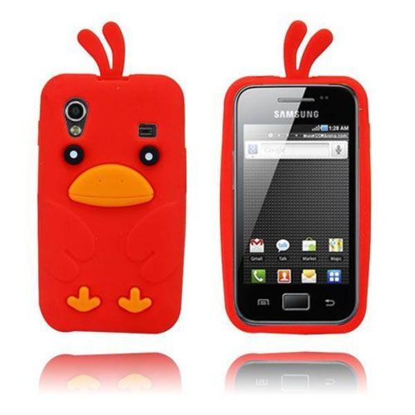 Chicken (Röd) Samsung Galaxy Ace Skal